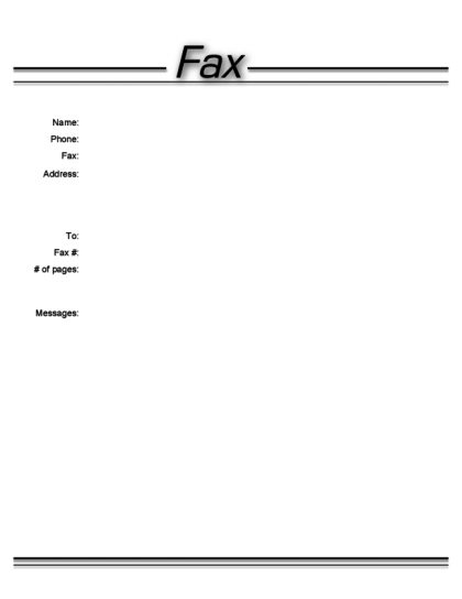 Generic Fax Cover Sheet Template 2.pdf.png  Fax Cover Sheet To Print