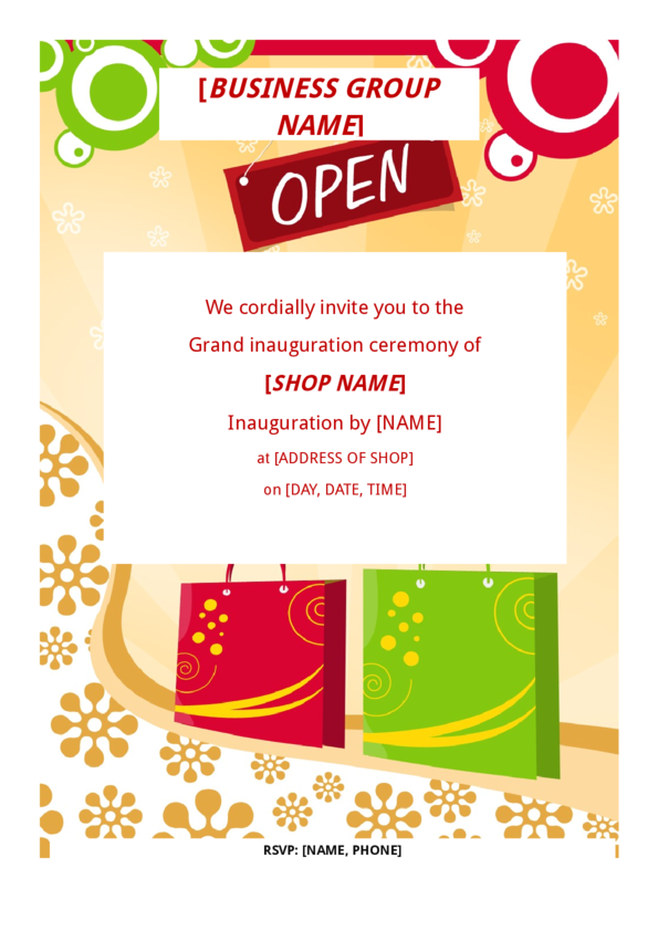 Grand Opening Flyer Template – Grand Opening Flyer Template