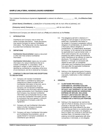 Unilateral-Contract